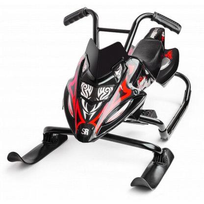 Small Rider Scorpion Duo Чёрно-красный вид спереди