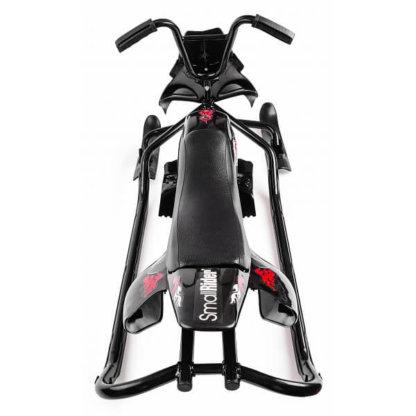 Small Rider Scorpion Duo Чёрно-красный вид сверху