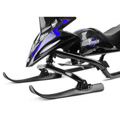 Small Rider Scorpion Duo Чёрно-синий - передние лыжи крупным планом