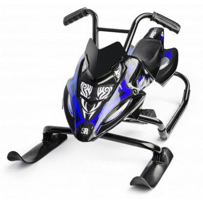 Small Rider Scorpion Duo Чёрно-синий вид спереди