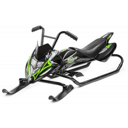 Small Rider Scorpion Duo Чёрно-зелёный
