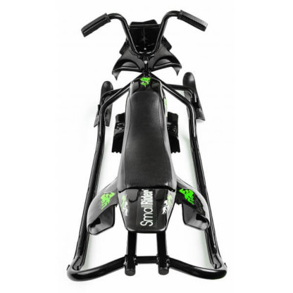Small Rider Scorpion Duo Чёрно-зелёный - вид сверху