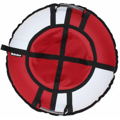 Тюбинг Hubster Хайп Красно-белый 120 см - 1