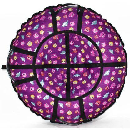Тюбинг Hubster Lux Pro Совята фиолетовый 120 см - 1