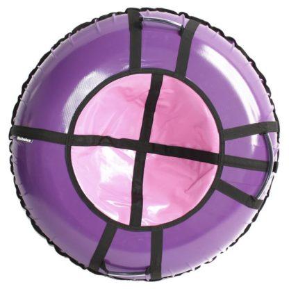 Тюбинг Hubster Ring Pro Фиолетово-розовый 120 см - 1