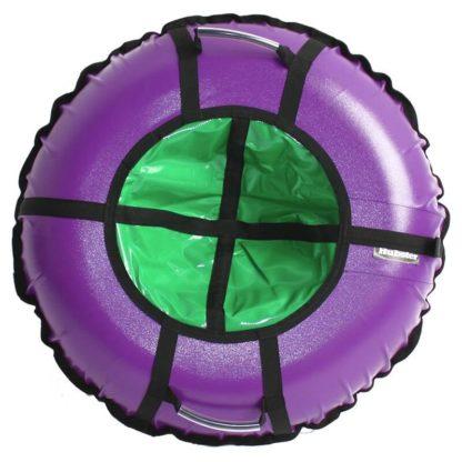 Тюбинг Hubster Ring Pro Фиолетово-зелёный 120 см - 1