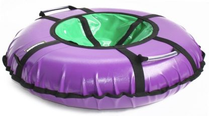 Тюбинг Hubster Ring Pro Фиолетово-зелёный 120 см - 2