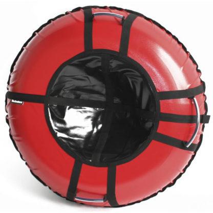 Тюбинг Hubster Ring Pro Красно-чёрный 120 см - 1
