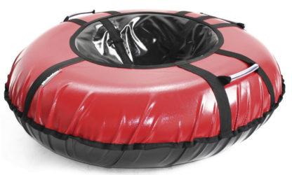 Тюбинг Hubster Ring Pro Красно-чёрный 120 см - 2