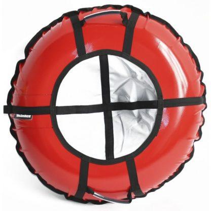Тюбинг Hubster Ring Pro Красно-серый 120 см - 1