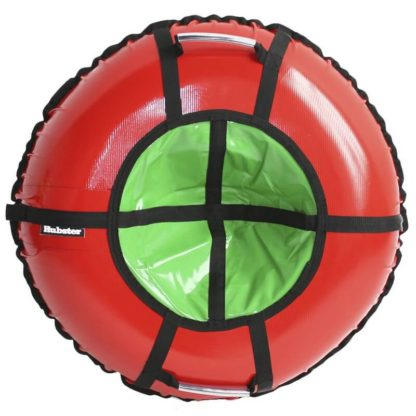 Тюбинг Hubster Ring Pro Красно-зелёный 120 см - 1