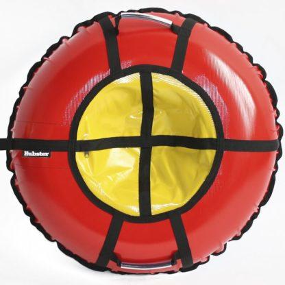 Тюбинг Hubster Ring Pro Красно-жёлтый 120 см - 1
