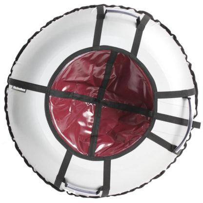 Тюбинг Hubster Ring Pro Серо-бордовый 120 см - 1