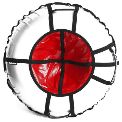 Тюбинг Hubster Ring Pro Серо-красный 120 см - 1