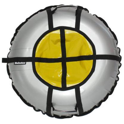 Тюбинг Hubster Ring Pro Серо-жёлтый 120 см - 1