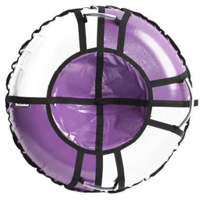 Тюбинг Hubster Sport Pro Фиолетово-серый 120 см - 1