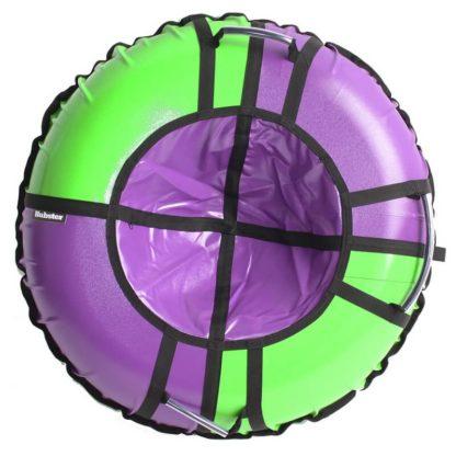 Тюбинг Hubster Sport Pro Фиолетово-зелёный 120 см - 1
