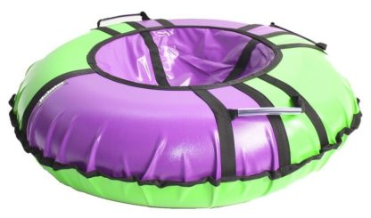 Тюбинг Hubster Sport Pro Фиолетово-зелёный 120 см - 2