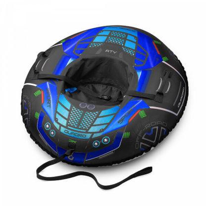 Тюбинг Small Rider Asteroid Quadro 4×4 Синий 120 см - 5