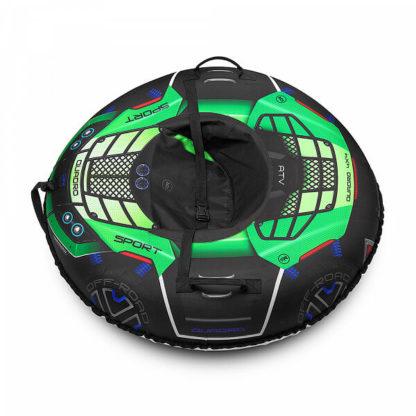 Тюбинг Small Rider Asteroid Quadro 4×4 Зелёный 120 см - 2