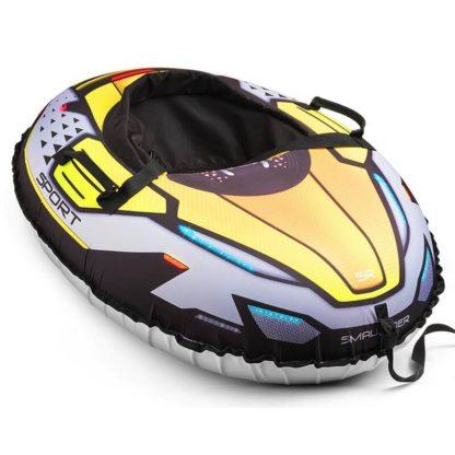 Тюбинг Small Rider Asteroid Sport Жёлтый 120 см - 1