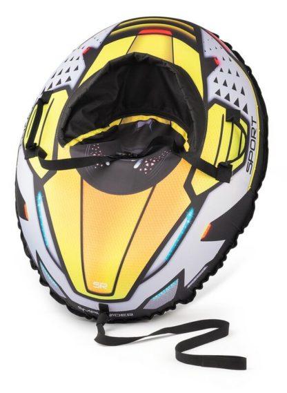 Тюбинг Small Rider Asteroid Sport Жёлтый 120 см - 2