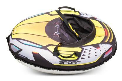 Тюбинг Small Rider Asteroid Sport Жёлтый 120 см - 3
