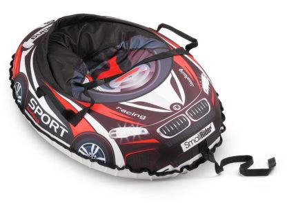 Тюбинг Small Rider Snow Cars 3 BM Чёрно-красный 120 см - 2