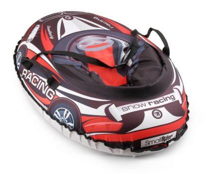 Тюбинг Small Rider Snow Cars 3 BM Чёрно-красный 120 см - 3