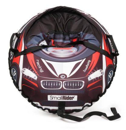 Тюбинг Small Rider Snow Cars 3 BM Чёрно-красный 120 см - 5