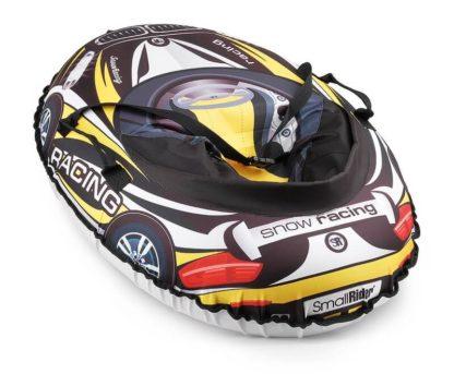 Тюбинг Small Rider Snow Cars 3 BM Чёрно-жёлтый 120 см - 2
