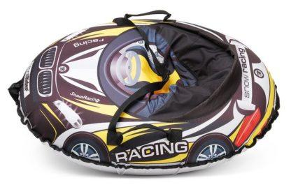 Тюбинг Small Rider Snow Cars 3 BM Чёрно-жёлтый 120 см - 3