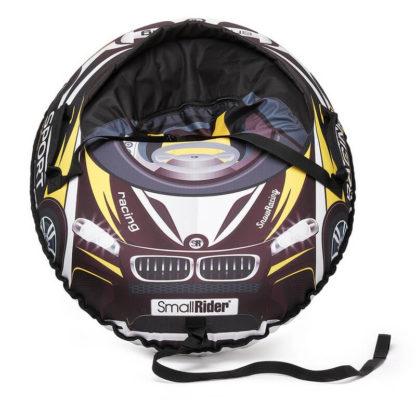 Тюбинг Small Rider Snow Cars 3 BM Чёрно-жёлтый 120 см - 4
