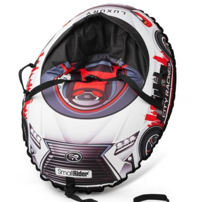 Тюбинг Small Rider Snow Cars 3 LX-красный 120 см - 1