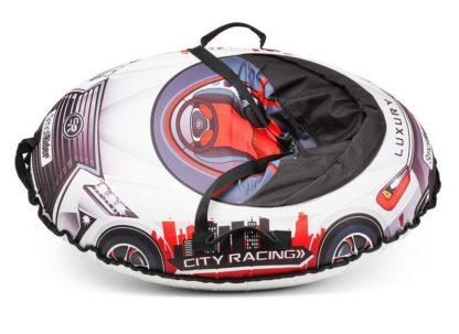 Тюбинг Small Rider Snow Cars 3 LX-красный 120 см - 3