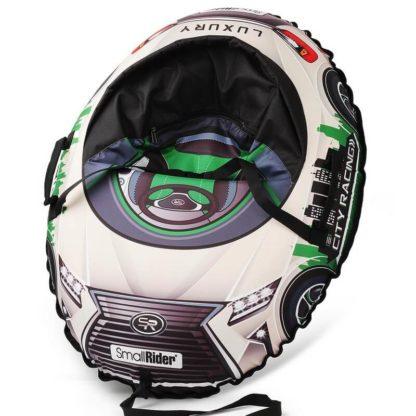 Тюбинг Small Rider Snow Cars 3 LX-зелёный 120 см - 1