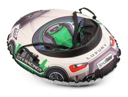 Тюбинг Small Rider Snow Cars 3 LX-зелёный 120 см - 2
