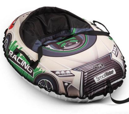 Тюбинг Small Rider Snow Cars 3 LX-зелёный 120 см - 4