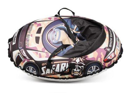 Тюбинг Small Rider Snow Cars 3 Сафари Камуфляж 120 см - 3