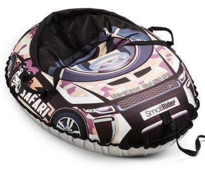 Тюбинг Small Rider Snow Cars 3 Сафари Камуфляж 120 см - 4