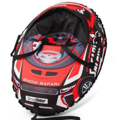 Тюбинг Small Rider Snow Cars 3 Сафари Красный 120 см - 1