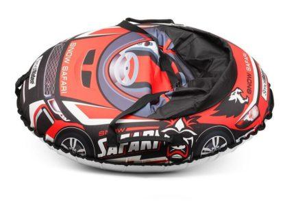 Тюбинг Small Rider Snow Cars 3 Сафари Красный 120 см - 3