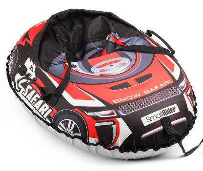 Тюбинг Small Rider Snow Cars 3 Сафари Красный 120 см - 4