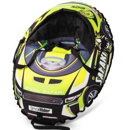 Тюбинг Small Rider Snow Cars 3 Сафари Зелёный 120 см - 1