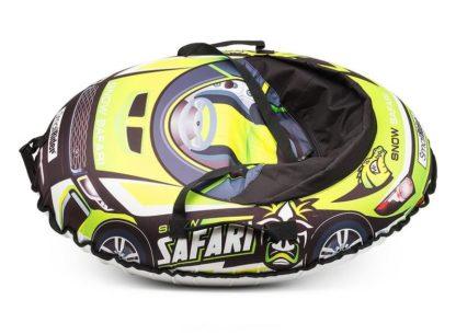 Тюбинг Small Rider Snow Cars 3 Сафари Зелёный 120 см - 3