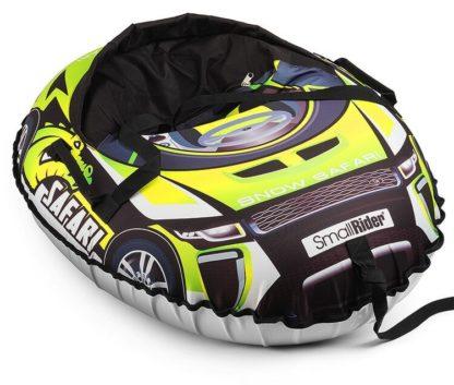 Тюбинг Small Rider Snow Cars 3 Сафари Зелёный 120 см - 4