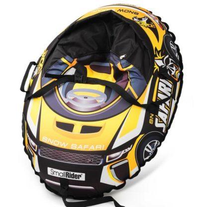 Тюбинг Small Rider Snow Cars 3 Сафари Жёлтый 120 см - 1