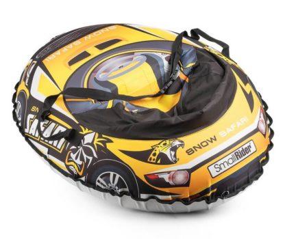 Тюбинг Small Rider Snow Cars 3 Сафари Жёлтый 120 см - 2