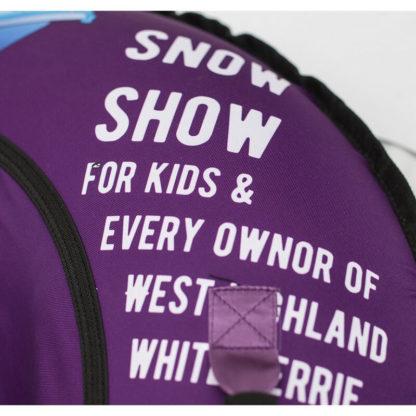 Тюбинг Snow Show Design Standard Игривый щенок 105 см - 10