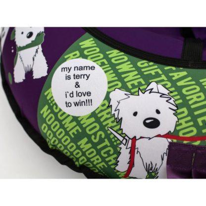 Тюбинг Snow Show Design Standard Игривый щенок 105 см - 7
